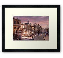 Sheldonian Theatre - Oxford, England UK Framed Print