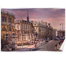 Sheldonian Theatre - Oxford, England UK Poster