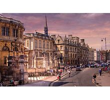 Sheldonian Theatre - Oxford, England UK Photographic Print