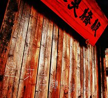 Old store in china wuzhen by SHOT