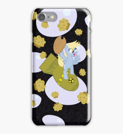 derpy bomb iPhone Case/Skin