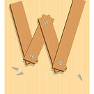 W is for Wood by Jason Jeffery