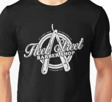 Fleet Street Barber Shop Unisex T-Shirt