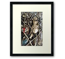 The Nightingale and the Rose Framed Print
