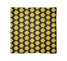 Group of yellow apples Scarf