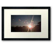 Planet's 9 Framed Print