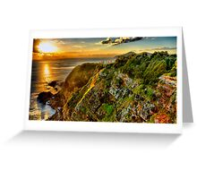 Sunrise Forster HDR Greeting Card