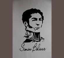 Mural to Simon Bolivar in Giron T-Shirt
