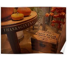Thanksgiving Hideaway Poster