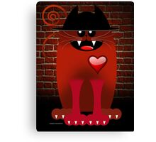 BIG RED Canvas Print
