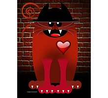 BIG RED Photographic Print