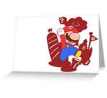 the plumber Greeting Card
