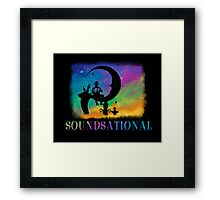 Soundsational Framed Print