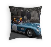 Aston Martin DBR2 Replica Throw Pillow
