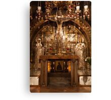 Church of the Holy Sepulchre, Jerusalem Canvas Print