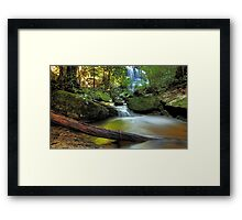 Serenity in the Mountains Framed Print