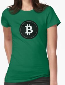 Bitcoin Womens Fitted T-Shirt