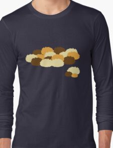 A pile of Tribbles Long Sleeve T-Shirt