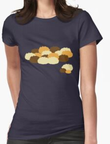 A pile of Tribbles Womens Fitted T-Shirt