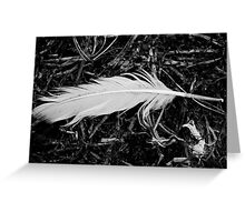 Light Turns to Darkness Greeting Card
