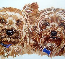 Pet portrait by db Artstudio by Deborah Boyle