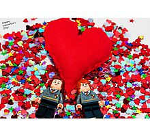 Lego Valentine Photographic Print