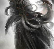 Raven Lamia by Marikobard