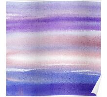 Pearly Sky Abstract II Poster