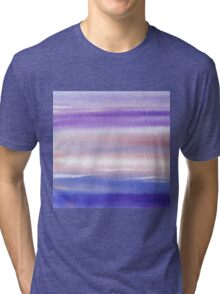Pearly Sky Abstract II Tri-blend T-Shirt