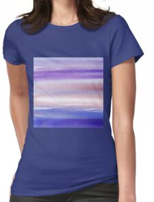 Pearly Sky Abstract II Womens Fitted T-Shirt