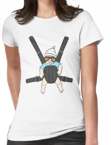 Hangover Baby Tshirt - Alan & Bjorn - Hangover The Movie Womens Fitted T-Shirt