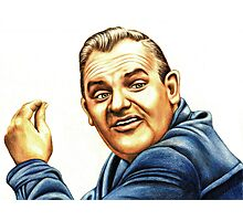 Ronnie Barker plays Fletch Photographic Print