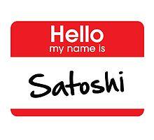 Satoshi Nakamoto (Bitcoin) Sticker by N-O-D-E