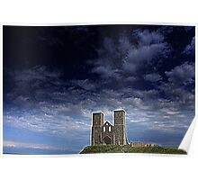 Reculver  (English Heritage) Poster