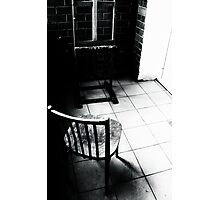 empty easel Photographic Print