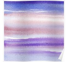 Pearly Sky Abstract III Poster