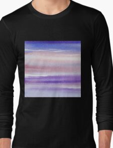 Pearly Sky Abstract III Long Sleeve T-Shirt