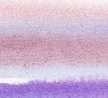 Pearly Sky Abstract III Sticker