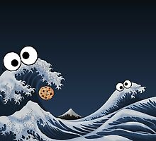 cookie monster by azenonerr