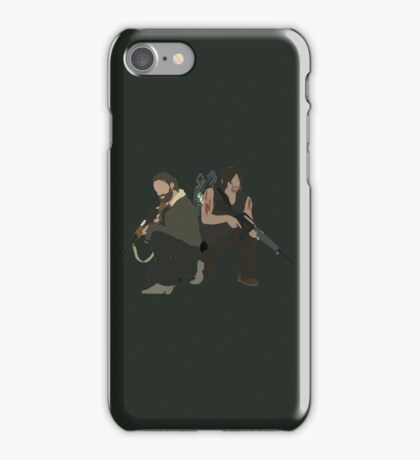 Daryl Dixon and Rick Grimes - The Walking Dead iPhone Case/Skin