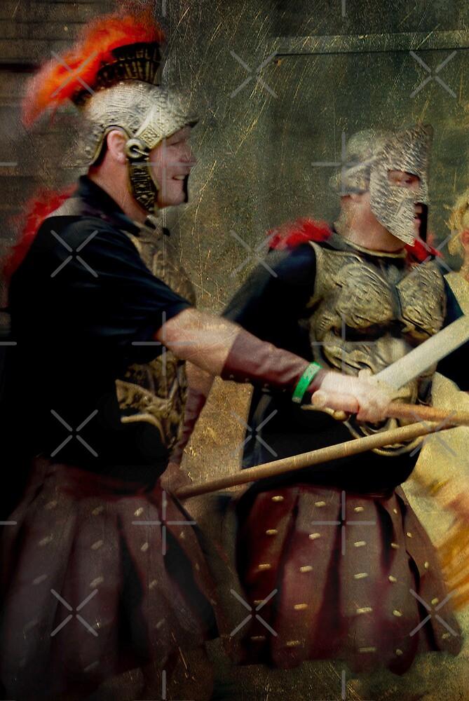 Gladiators by Catherine Hamilton-Veal  ©
