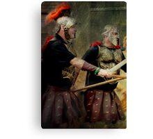 Gladiators Canvas Print