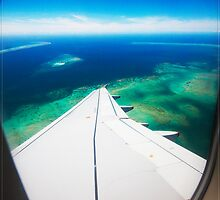 Arriving at the Great Barrier Reef, Cairns, Qld. Australia by Chris Cohen