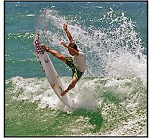 Surfing 13 Photographic Print