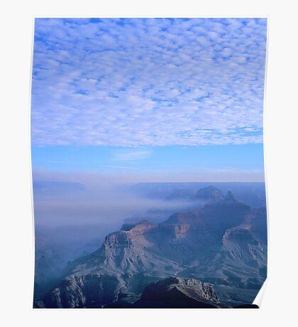 Grand Canyon Blues Poster