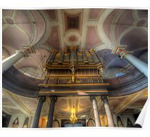 Derby Cathedral Pipes - Vertorama Poster