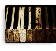 if these keys could talk Canvas Print