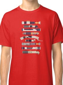 Sabers - Star Wars Inspired Minimalist Infographic Classic T-Shirt