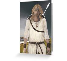 Saint Oswin of Deira Greeting Card
