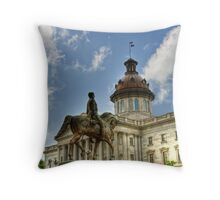 SC Statehouse Throw Pillow